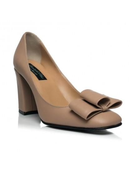 Pantofi Chic Madame C1 Nude - pe stoc
