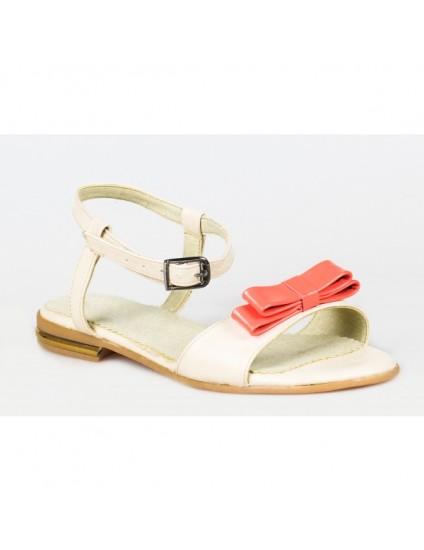 Sandale talpa joasa piele Funda Rosie P6 - pe stoc