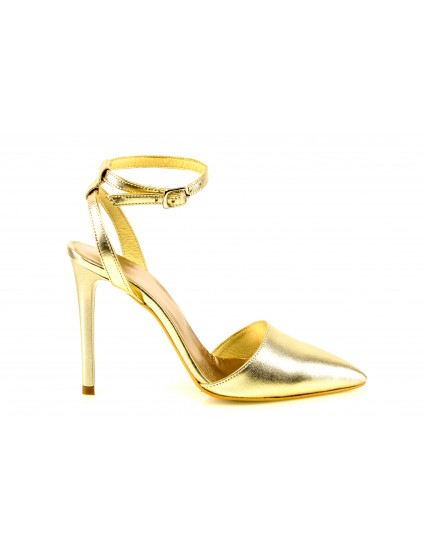 Pantofi piele Stiletto Auriu P10 - orice culoare