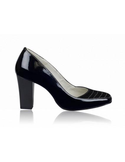 Pantofi dama piele office negru P5 - orice culoare