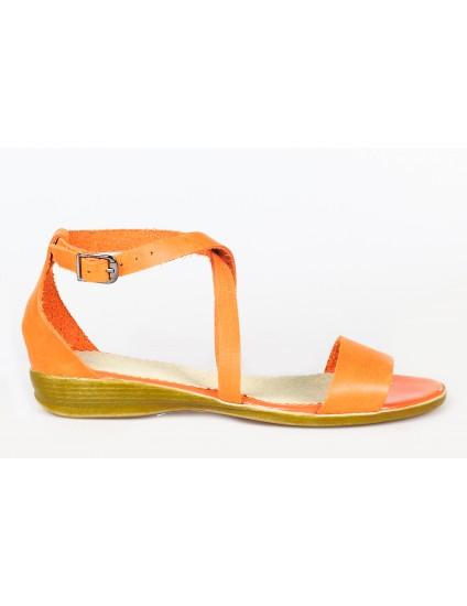 Sandale dama talpa joasa piele P8 - orice culoare