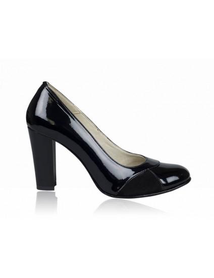 Pantofi dama piele office negru P8 - orice culoare