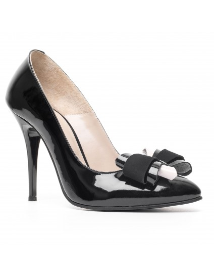 Pantofi piele stiletto Funda D2
