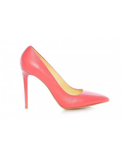 Pantofi Stiletto Very Chic piele naturala roz - pe stoc