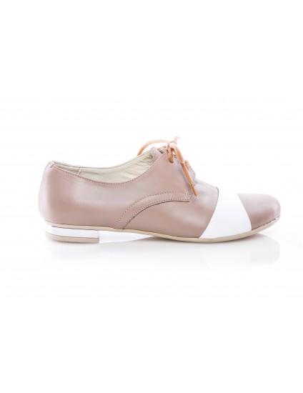 Pantofi Oxford 8 piele capucino - orice culoare
