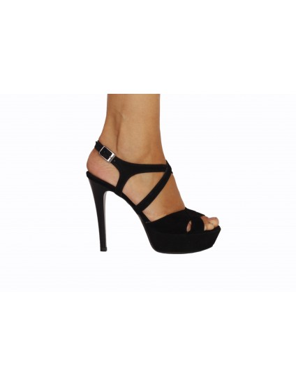 Sandale Modern 1 Negru, Piele Naturala - disponibile pe orice culoare