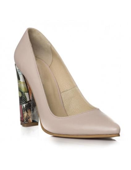 Pantofi Stiletto Toc Gros Revista C10 - orice culoare