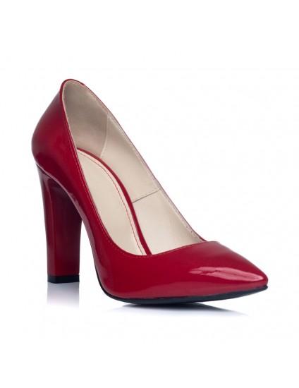 Pantofi Dama Piele Stiletto L14 - pe stoc