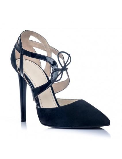 Pantofi Stiletto Diva Piele Negru S1 - orice culoare