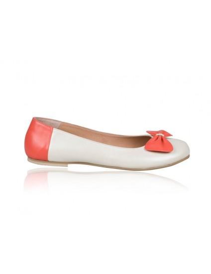 Balerini piele Orange Ribbon N8 - orice culoare