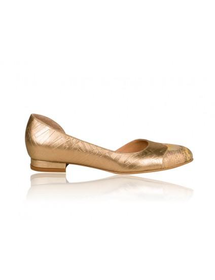 Balerini Piele Gold N2 - Orice culoare
