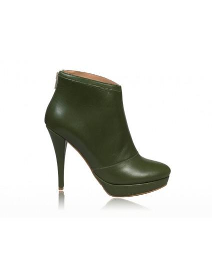 Botine dama piele Verde  N 12 - disponibile pe orice culoare