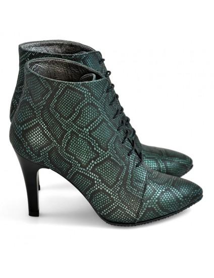 Botine dama piele Elegant Snake D5 - orice culoare