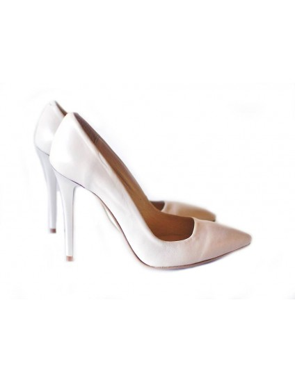 Pantofi Stiletto Very Chic  Crem - disponibili pe orice culoare