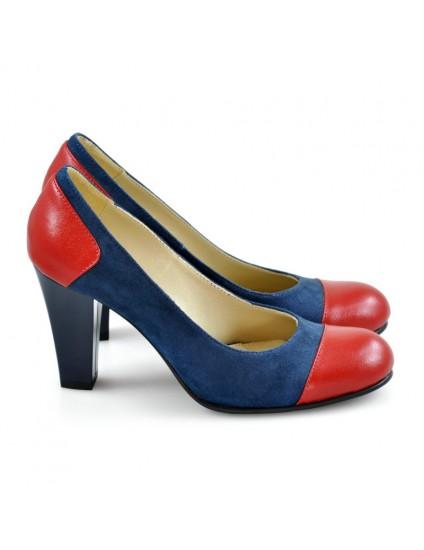 Pantofi Dama D143 Piele Naturala - orice culoare