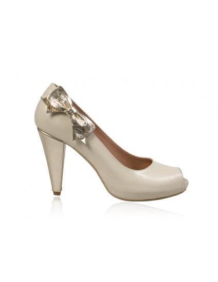Pantofi piele funda N30