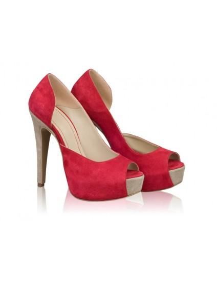Pantofi Dama Piele N65 - orice culoare