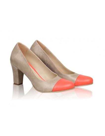 Pantofi dama piele Model N 12 - disponibili pe orice culoare