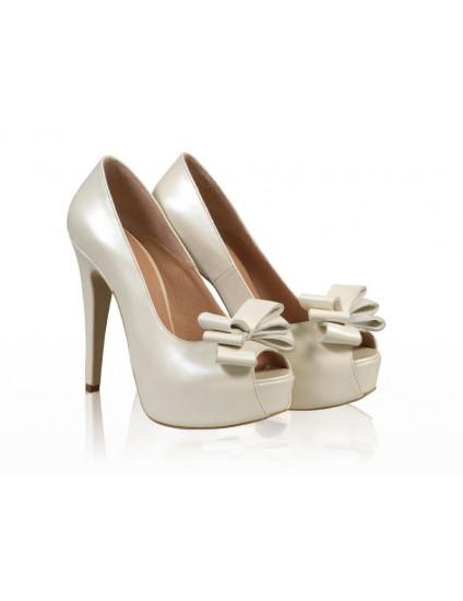 Pantofi mireasa N31 Silver Queen - orice culoare