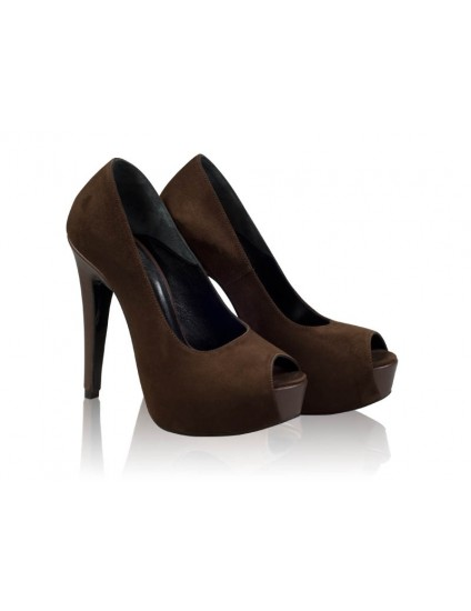 Pantofi Piele Lori N60 Maro- orice culoare