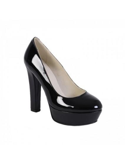 Pantofi piele naturala Livi  Negru - orice culoarea
