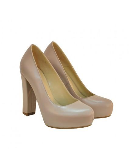 Pantofi Dama D132 Piele Naturala - orice culoare