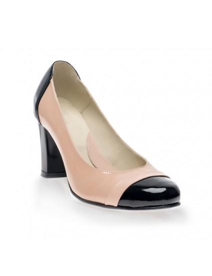 Pantofi piele Office Negru V26 - orice culoare