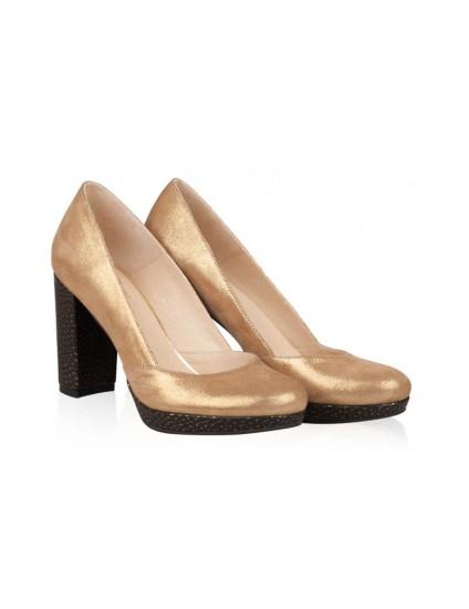 Pantofi Piele naturala N10 - orice culoare