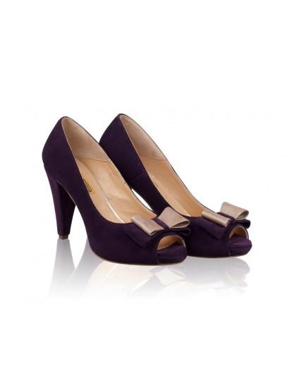 Pantofi Piele naturala N27 - orice culoare