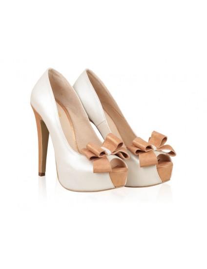 Pantofi Piele naturala N1 - orice culoare
