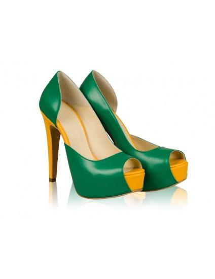 Pantofi Dama Piele N56 - orice culoare