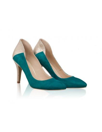 Pantofi Stiletto Queen Verde N1 - orice culoare
