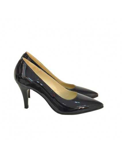Pantofi Dama Piele Lacuita Negu Stiletto DM11 - orice culoare