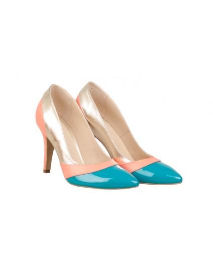 Pantofi Stiletto PIele Trio N70 - orice culoare