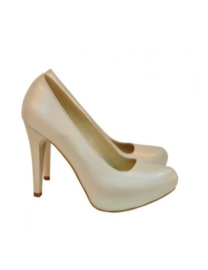 Pantofi Dama D129 Piele Naturala - orice culoare