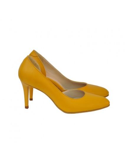 Pantofi Dama D111 Piele Naturala - orice culoare