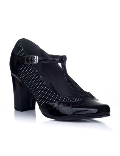 Pantofi Dama Piele Boni Buline V35 - orice culoare