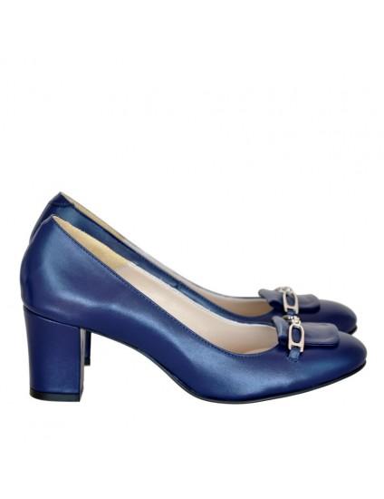 Pantofi Piele Office Bleumarine D40 - orice culoare