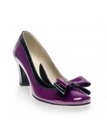 Pantofi dama office Mov Fundita V19 - orice culoare