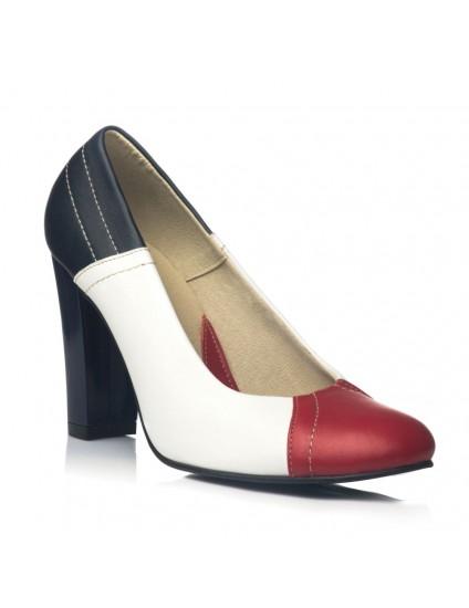 Pantofi Dama Piele Office Marin V24 - orice culoare
