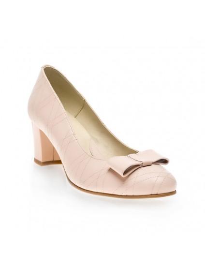Pantofi Office Cusaturi Piele Nude V27- orice culoare