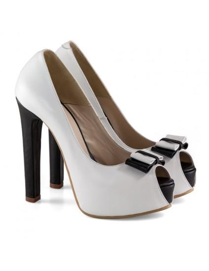Pantofi Dama D128 Piele Naturala - orice culoare