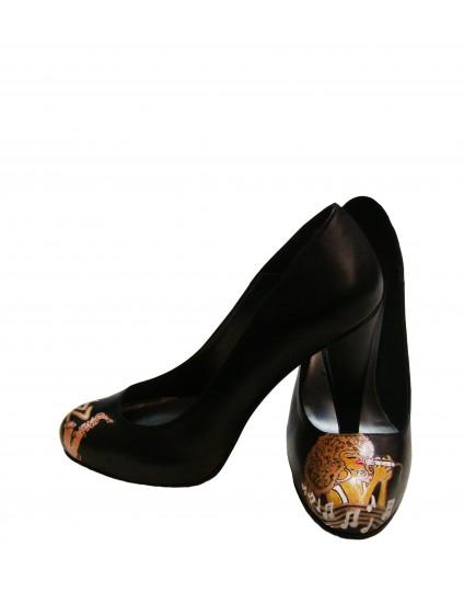 Pantofi pictati manual Jazz - orice culoare