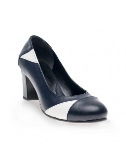 Pantofi piele Comod Bleumarin - orice culoare