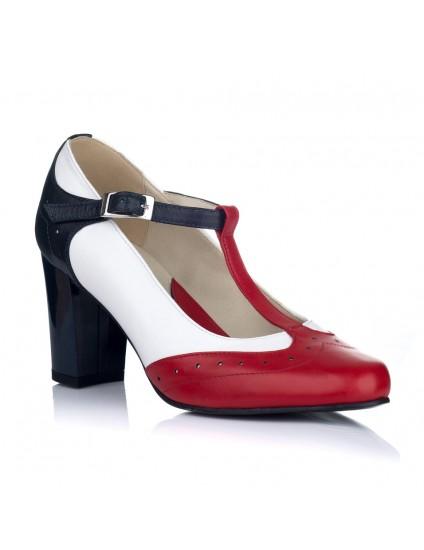 Pantofi Dama Piele Boni Marin V35 - orice culoare