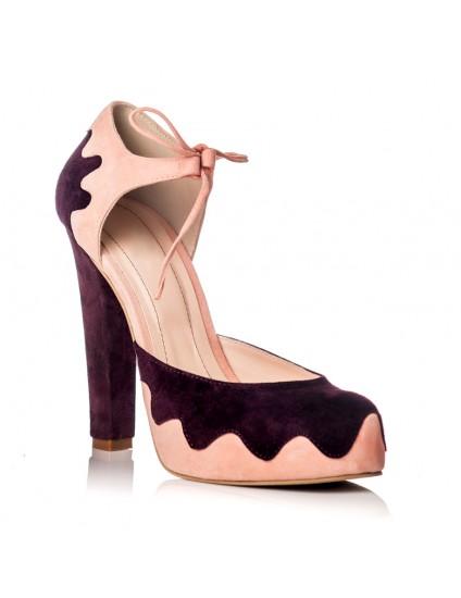 Pantofi Piele Dolly F12 - orice culoare