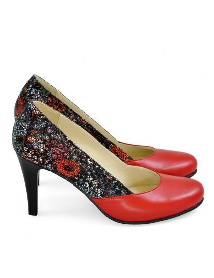 Pantofi Dama Piele Brianne Rosu- orice culoare
