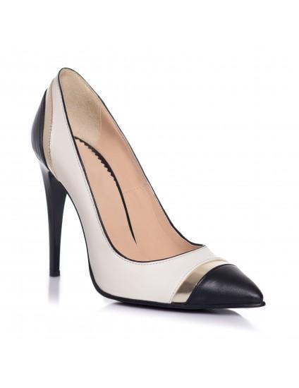 Pantofi Stiletto Fashion Alb  I1  - orice culoare