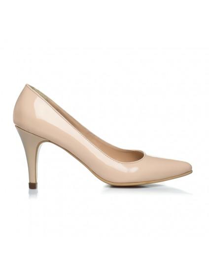 Pantofi Stiletto Nude Toc Mic - orice culoare
