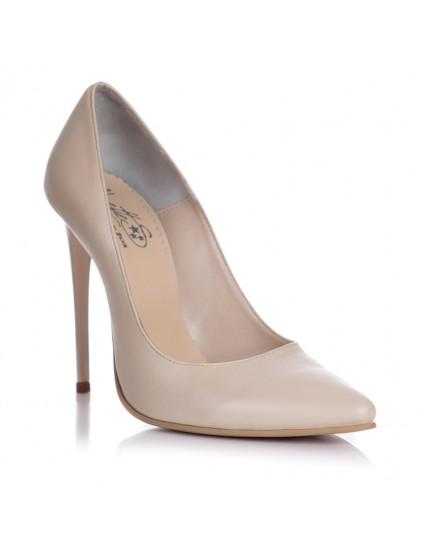 Pantofi Piele Stiletto F2  - orice culoare